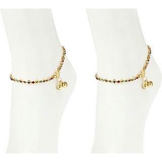 Dipali Diva Precious Diamond Studded Anklet 210