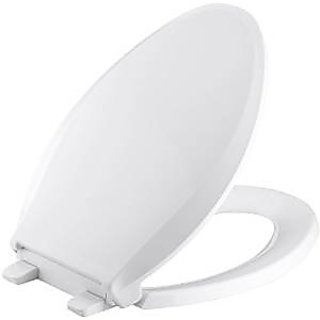 SHRUTI European Easy Move Wall Hung Toilet commode Seat Cover, Toilet Seat cover, - White(2278)