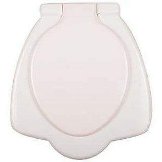 SHRUTI Pvc Anglo Indian Heavy Duty Toilet Commode Seat Cover- Ivory(2261)
