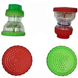 SHRUTI Taps / Bib cock Water Softner ,water cleaner ,water purifier, water Filter - Pack of 3 (Code-2127 mix color)