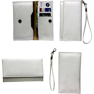 Jojo Pouch for Lenovo A6000 (White)