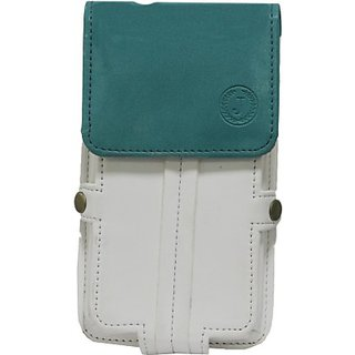 Jojo Holster for Motorola OneTouch MOneToucho G (White Light Blue)