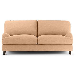 FabHomeDecor - Amelia 2 Seater Sofa biege