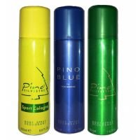 The New Pino Blue, Sport Cologne And Original Deodorant (Combo Pack Of 3)-200 Ml Each