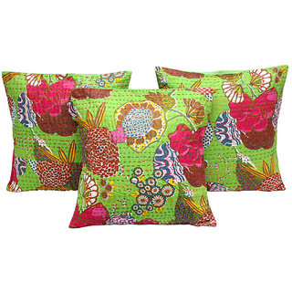 Cotton Darling Single Cushion Cover L 41 cms, W 41 cms SET OF 3 CUSHION COVER