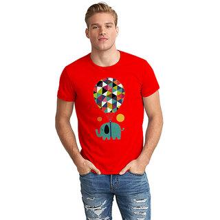 The Fappy Store  Elephant Half Sleeve T-Shirt