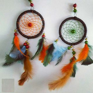 Handmade Dream Catcher With Multi Colour