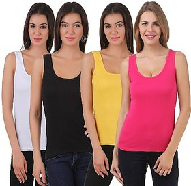 Friskers Tank top Pack of 4