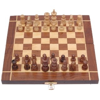 Sparkle India Wooden Chess(14 inch)