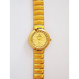 Bromstad Analog IPG Gold Plating Women Watch (655 L-G)