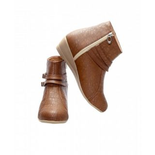 CATBIRD Women Beige Stylish Casual Boots E30-52