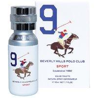 Beverly Hills Polo Club EDT Sport White Men 9 50 ML