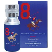 Beverly Hills Polo Club EDT Sport Blue Men 8 50 ML