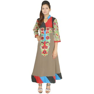 Keemaya Georgette Party Wear Mouse Women's Kurti