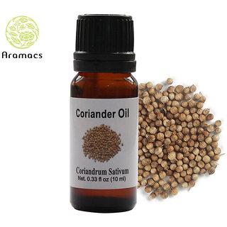 Coriander Essential Oil Pure and Natural Therapeutic Grade 10 ML