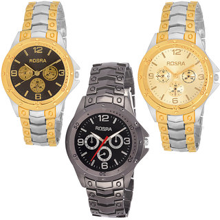 FONCE ROSRA SERIES WATCHES (SET OF 3 )