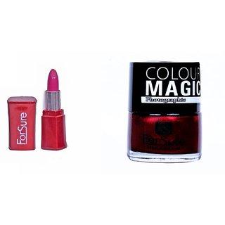 Susha Lipstick,Nail Polish Combo