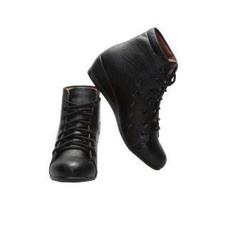 CATBIRD Women Black Stylish Casual Boots LED-48