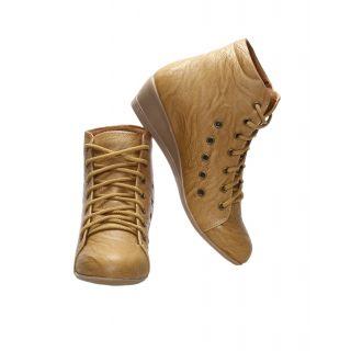 CATBIRD Women Camel Stylish Casual Boots LED-48