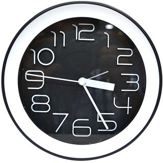 Jaycoknit Black Dzire Sicario Wall Clock