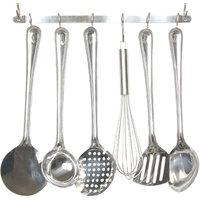 6 Pcs Kitchen Tool Set With Rack (4825)