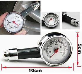 Metal Body Pressure Measure Gauge Meter