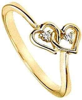 Diamond Ring in Yellow Gold - SAN47