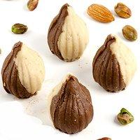 Ghasitaram'S Sugarfree Chocolate Twin Mawa Modaks 400Gm