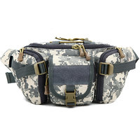 Imported Outdoor Unisex Waist Bag Tactical Military Waist Pack Chest Bag Pouch ACU