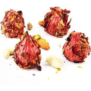 Ghasitaram'S Sugarfree Strawberry Rose Petal Modak 200Gms