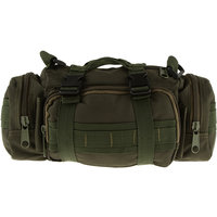 Imported Military Tactical Waist Pack Outdoor Shoulder Hand Bag Camping Army Green