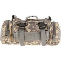 Imported Military Tactical Waist Pack Outdoor Shoulder Hand Bag Camping ACU