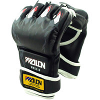 Imported Half Finger Boxing Punching Fighting Sandbag Training Gloves - Black Claw