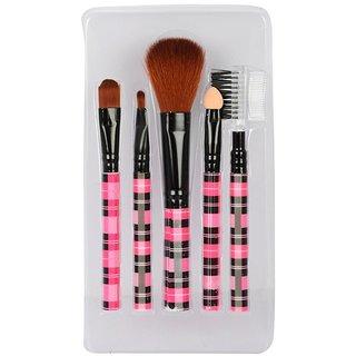 Looks United 5 Pcs High Quality Makeup Brush Set