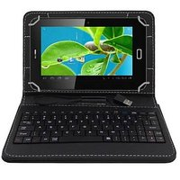 Krishty Enterprises 7inch Tablet Keyboard For Intex IBuddy IN-7DD01 Tablet (BLACK)
