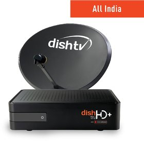 DishTV HD Connection-All India (1 month Platinum Sports Full-On HD Pack Free)