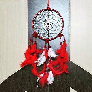 Aura Creations Garnet Red Dreamcatcher Wallhanging