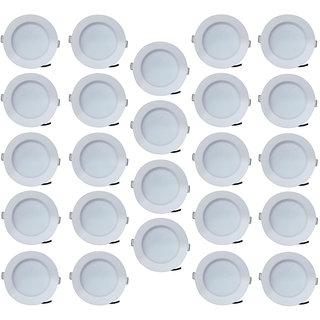 Bene LED 7w Blaze  Round Ceiling Light, Color of LED Blue (Pack of 24 Pcs)