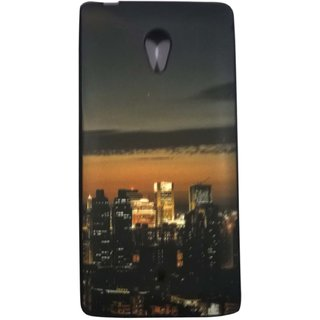 Extra Premium Quality Printed Back Case Cover For Micromax Canvas Fire 4G Q411 Design 4