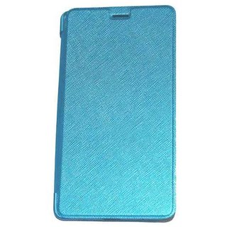 Caidea Flip Cover For Samsung Galaxy J7 - Blue