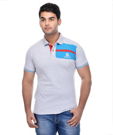 Surly Grey Sky Blue Polo T-Shirt
