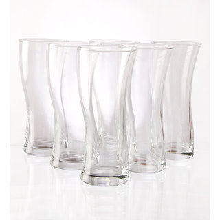 Ocean Salsa Hi ball 355 ml glasses - set of 6