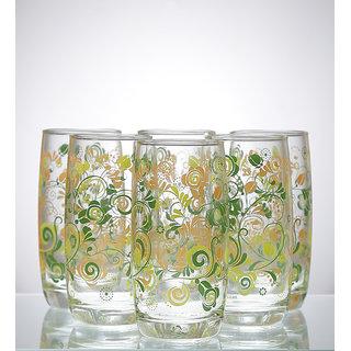 Ocean Refreshing Joy Green Glass 370 ml - Set of 6