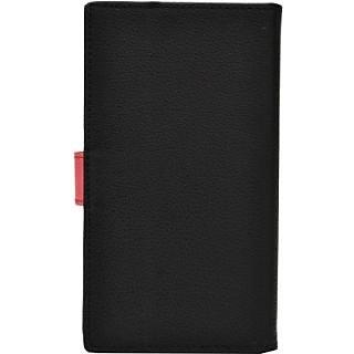 Jojo Flip Cover for BlackBerry Z3 (Black Red)