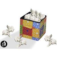 Jim-Dandy Clean Foldable Printed Dustbin ( Dustbin-009 ) - (Assorted Color)
