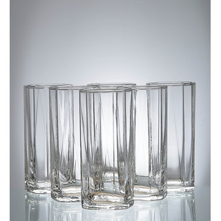 Ocean Pyramid Hi Ball 380 ml Glasses - Set of 6