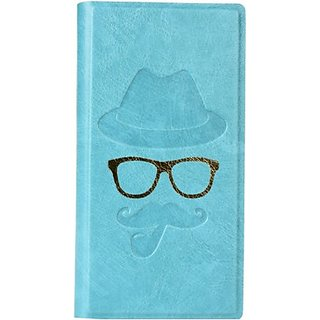 Jojo Flip Cover for Sony Xperia C6602 (Light Blue)