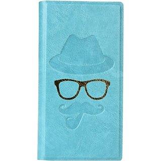 Jojo Flip Cover for Huawei Ascend G526 (Light Blue)