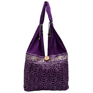 Women's Charming Purple Shoulder Bag