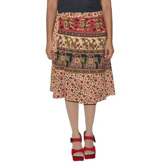 Gurukripa ShopeePrinted Women's Wrap Around Skirts GKSWCK-A0284